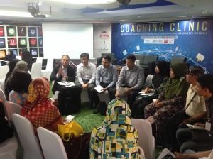 Easybiz menjelaskan seputar pendirian PT dan CV di hadapan komunitas internet di Jakarta